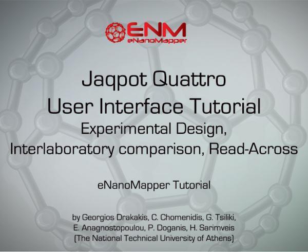 Jaqpot Quattro User Interface Tutorial