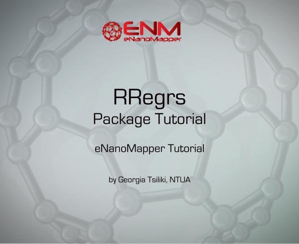 RRegrs package Tutorial