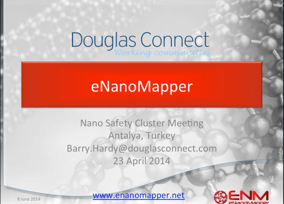 eNanoMapper presentation