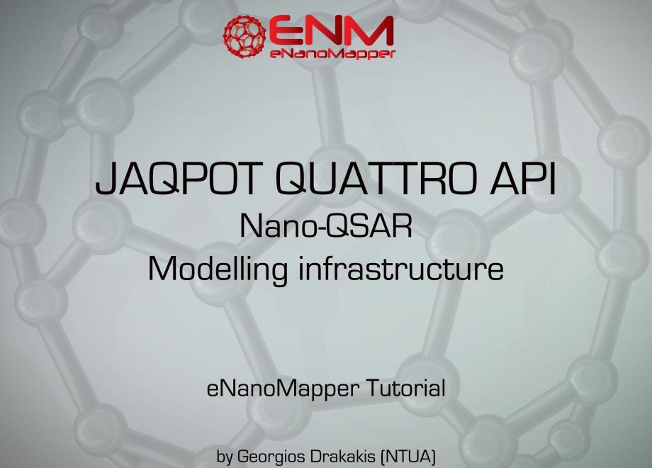 JAQPOT Quattro API Tutorial