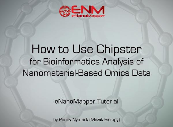 How to Use Chipster for Bioinformatics Analysis of Nanomaterial-Based Omics Data